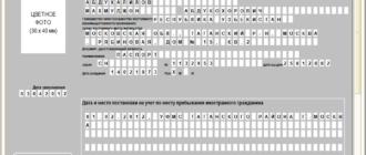 Образец заполнения заявления о выдаче патента иностранному гражданину